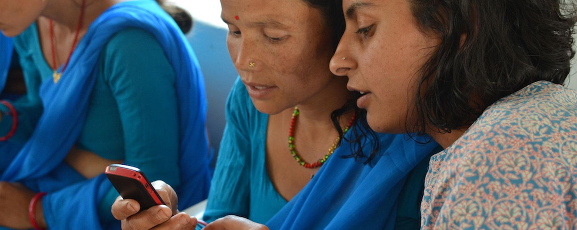 Ranju-and-FCHV-in-Nepal