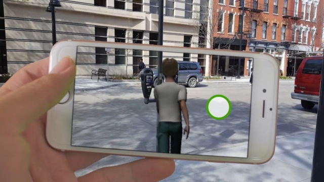 Video: Augmented Reality for Pedestrian Safety (SafetyAR)