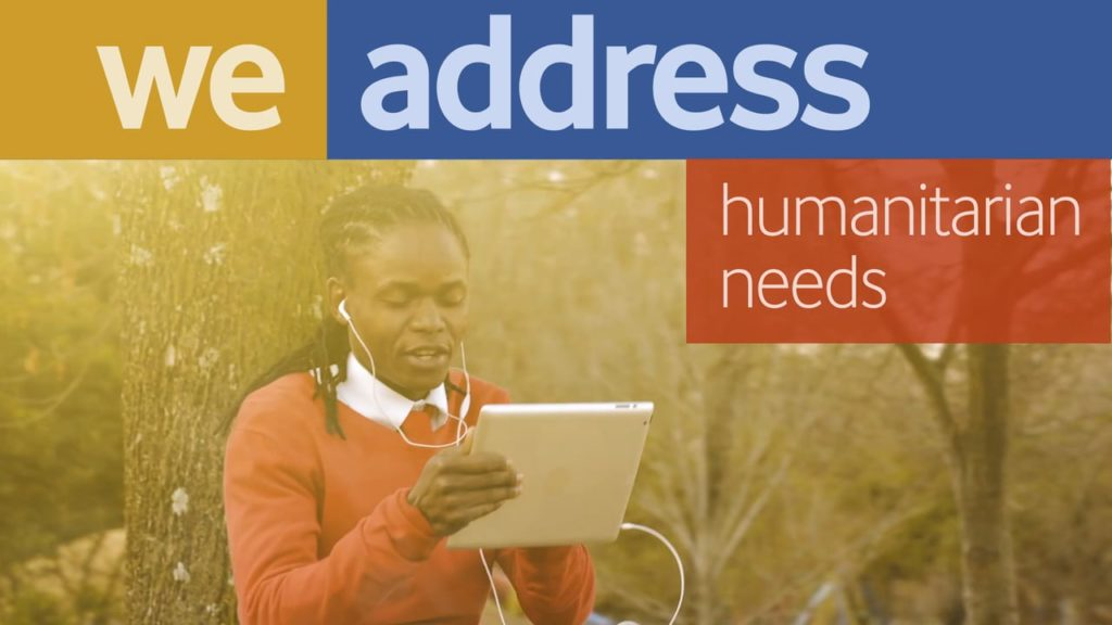 Video: Mobile Data Serving Humanitarian Needs