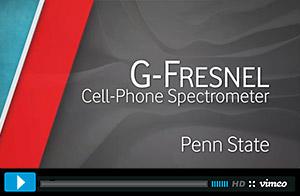 G-Fresnel Cell-phone Spectrometer